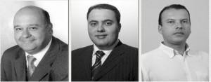 Suplentes Engenheiro Nei, Tales Franco e Carlinhos do Leme acreditam que câmara vai aumentar o número de representantes