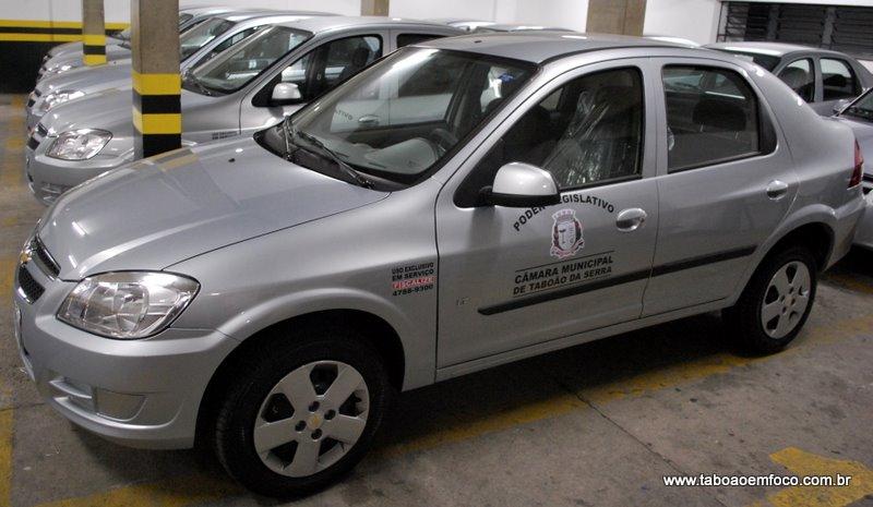 Em 2011 a câmara alugou os carros por R$ 434 mil por ano, mas após críticas e suspeitas o contrato foi cancelado. (Foto: Arquivo)