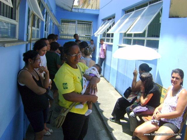 Sem pediatras, mães não conseguem marcar consultas aos seus filhos na UBS Parque Pinheiros.