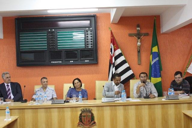 Audiência Pública debate direitos humanos na Câmara de Taboão da Serra. (Foto: Divulgação / CMTS)