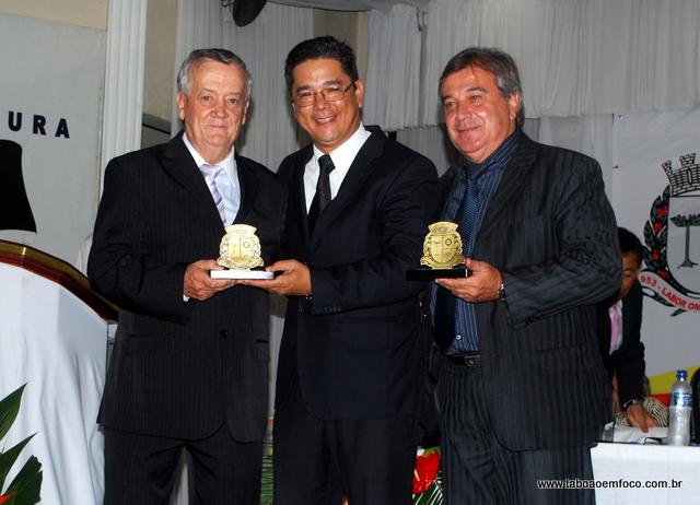 Luiz Carlos Braz de Souza e Acácio Luiz Cleto (presidente OAB-Taboão)