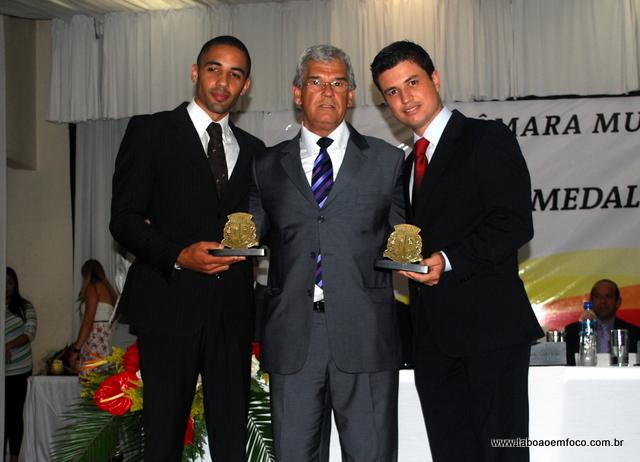 Pastor Rosiel de Oliveira Silva e Marcos Paulo de Oliveira (filho)