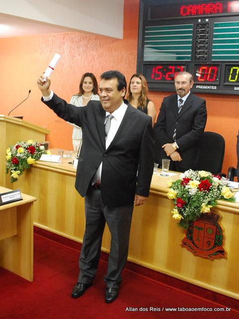 Prefeito eleito Fernando Fernandes Filho