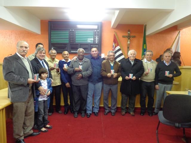 Pais homenageados em evento do PDT de Taboão da Serra