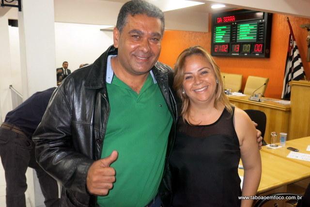 Donizete e Érica da Enfermagem disputam presidência do PDT de Taboão da Serra.