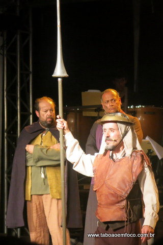O sonhador Don Quixote mostra que Taboão da Serra pode (e deve) receber grandes espetáculos.