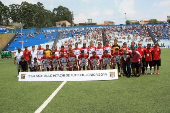 Equipe do Taboão da Serra na Copa São Paulo de 2014.