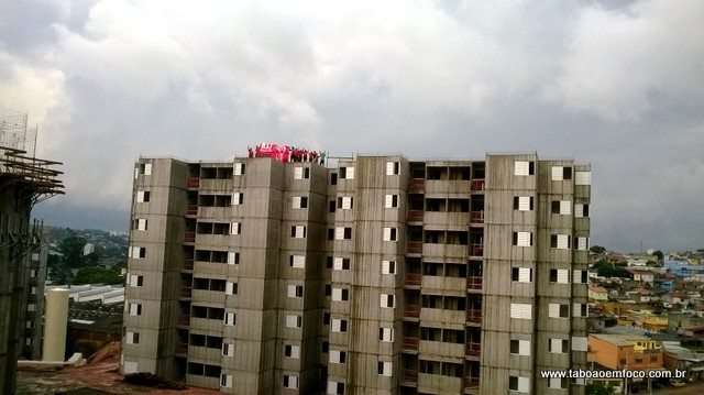 Construção de apartamentos no Jardim Salete em Taboão da Serra entra na fase final.