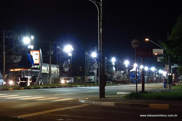 Avenida Pirajussara, que liga São Paulo a Taboão, será palco de desfiles de carnaval.