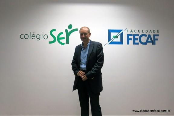 Empresário Joel Garcia de Oliveira investe em nova unidade de ensino em Taboão da Serra.