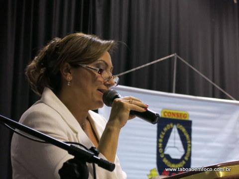 Na despedida da presidência, Cida Borghi não poupou críticas ao Governo do Estado de São Paulo