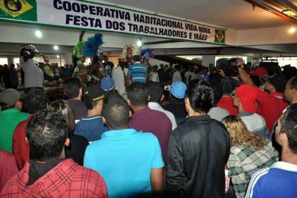 Cooperativa Vida Nova realiza mais uma festa em homenagem ao 'Dia do Trabalho' aos funcionários. (Foto: Jornal Na Net)
