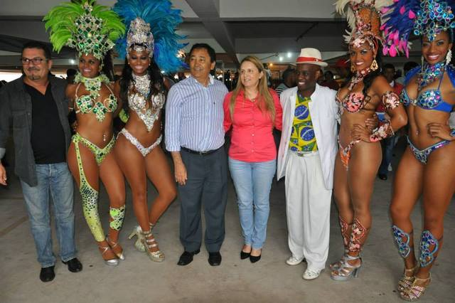 Festa do trabalhador termina em samba na Cooperativa Vida Nova. (Foto: Jornal Na Net)