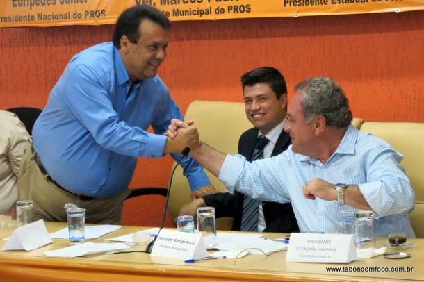 Em encontro regional, Pros ratifica apoio ao prefeito Fernando Fernandes em Taboão da Serra.