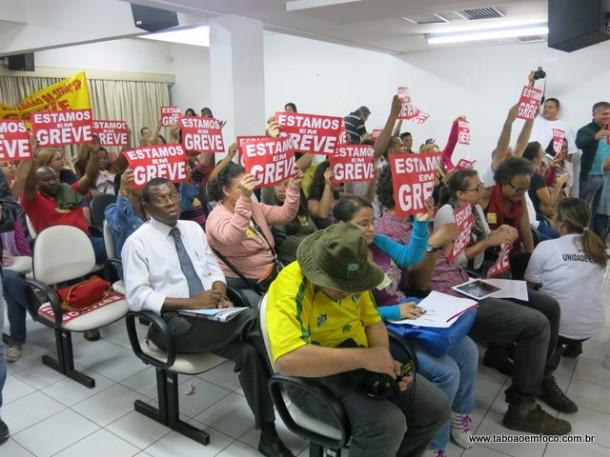 Servidores em greve na Camara_Jun14