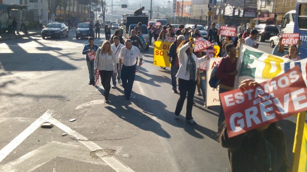 Servidores de Taboão que entraram em greve terão os dias descontados do salário. (Foto: Reprodução / Facebook Siproem)