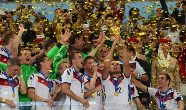 Alemanha derrota Argentina por 1 a 0 e conquista o tetracampeonato no Brasil. (Foto: Divulgação / EBC)