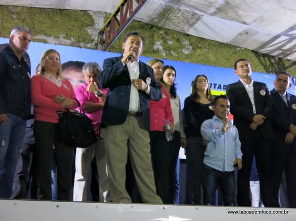 Ex-vereador Aprígio lança  em casa de shows a sua candidatura a deputado federal.