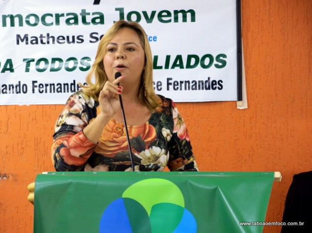 Érica Franquini é expulsa do PDT e se filia ao PSDB.