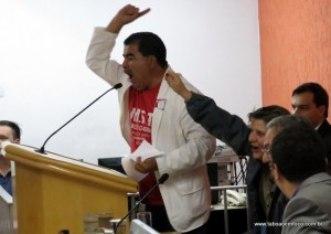 Líder do MST, Paulo Félix, comemora alterações no Plano Diretor de Taboão da Serra que mantém áreas de ZEIS.