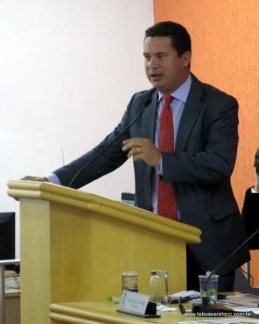 Presidente da Câmara de Taboão da Serra, Eduardo Nóbrega, divulga nota de pesar pela morte de Eduardo Campos.