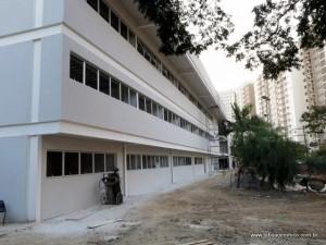 Fachada da nova Câmara Municipal de Taboão da Serra, que deve ser entregue até novembro.