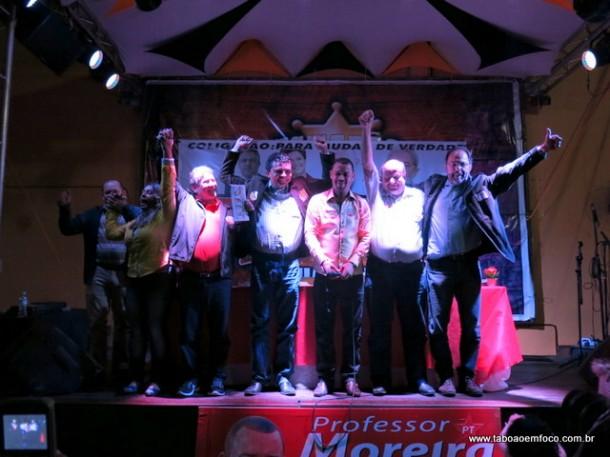 Vereador de Taboão da Serra, Professor Moreira, lança a candidatura a deputado federal.