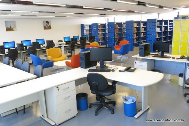 Comunidade terá permissão para utilizar a biblioteca do Senac Taboão da Serra.