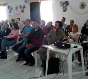 Servidores passaram por capacitação no auditório da Associação dos Deficientes de Taboão da Serra (ADT). (Foto: Divulgação / PMTS)