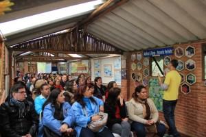 """Concurso cultural """"Água para todos e todos pela água"""" foi lançado na Cidade das Abelhas em parceria com o Grupo 1 de Jornais. (Foto: Vera Rodrigues / PMTS)"""