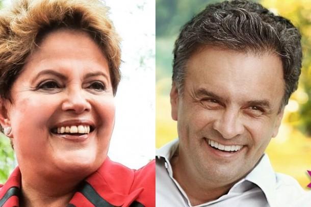 Aecio e Dilma_facebook