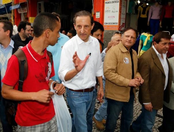Paulo Skaf, candidato a governador, fará campanha em Taboão da Serra. (Foto: Reprodução / Facebook Skaf)