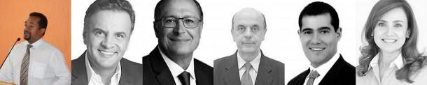 Cido Alves vota em: presidente Aécio Neves (PSDB), governador Geraldo Alckmin (PSDB), senador José Serra (PSDB), federal Alexandre Leite (DEM) e estadual Analice Fernandes (PSDB).