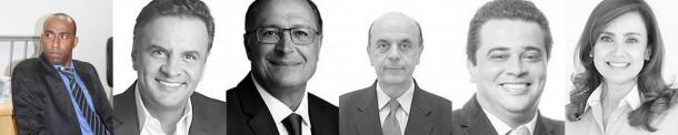 Eduardo Lopes (PSDB) vota em: presidente Aécio Neves (PSDB), governador Geraldo Alckmin (PSDB), senador José Serra (PSDB), federal Anderson Nóbrega (PR) e estadual Analice Fernandes (PSDB).