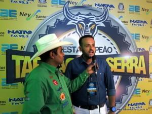 Organizador do Rodeio, Ney Santos enaltece a qualidade dos shows.