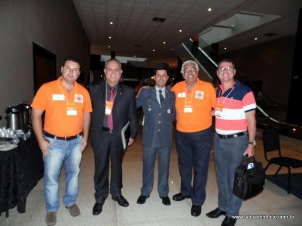 Ricardo Teodoro, da Defesa Civil de Taboão, representou o município na conferência em Brasília (Foto: Divulgação)