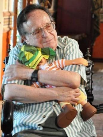 Morre o ator que interpretava o personagem Chaves, seriado exibido há décadas na TV Brasileira. (Foto: Danilo Mejias/SBT/Divulgação)