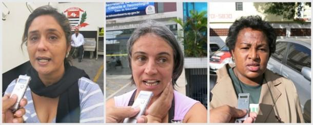 Liliam, Sandra e Selma disputam a presidência do SindTaboão.