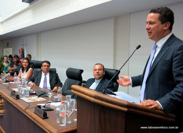 Eduardo Nóbrega entra para história como o vereador que construiu a sede do poder legislativo.