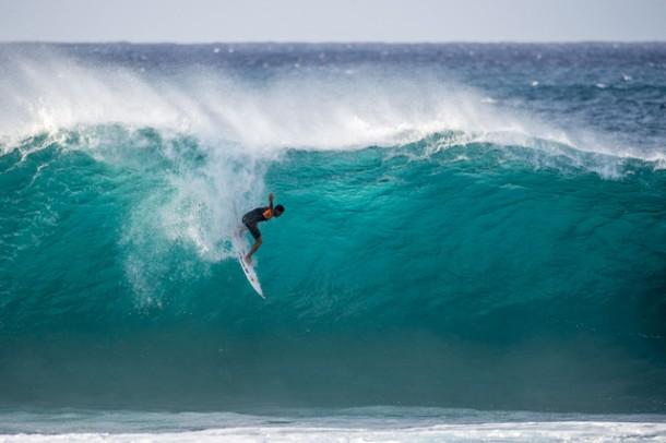 O paulista Gabriel Medina ganha mundial de Surf. (Foto Trevor Moran_RedBull)