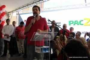 Líder do MTST Guilherme Boulo ressalta a importânca da luta por moradia.
