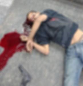 Homem foi morto após troca de tiros com a equipe Romucam de Taboão da Serra (Foto: Reprodução)