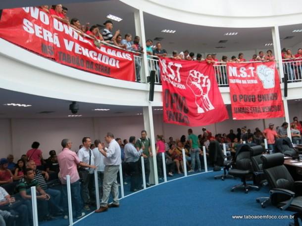 MST de Taboão da Serra cobra que demandas sejam incluídas no orçamento de 2015