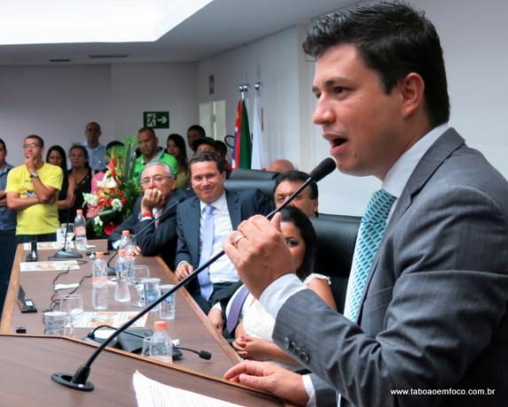 QUASE: o vereador Marcos Paulo conseguiu o apoio dos parlamentares, mas um voto escapou e levou junto a presidência.