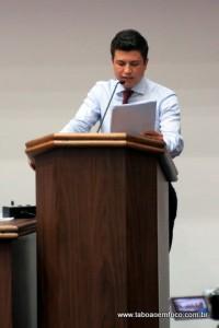 Vereador Paulinho promete ir à Justiça para que aconteça a eleição da nova mesa diretora da Câmara Municipal.