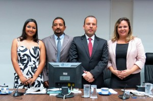 Nova mesa diretora da Câmara de Taboão da Serra será composta pelos vereadores: Joice Silva, Cido, Carlinhos do Leme e Érica Franquini.