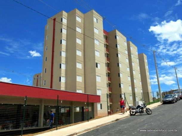 Apartamentos do Residencial João Cândido em Taboão da Serra, que terão isenção do IPTU a partir de 2018. (Foto: Arquivo)