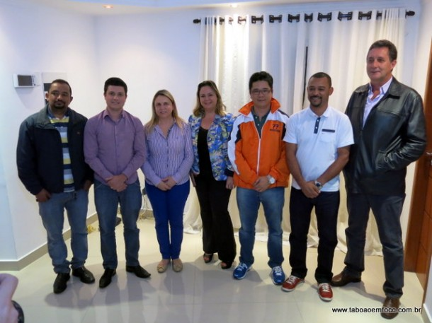 Acordo entre esses sete vereadores vai definir a nova mesa diretora da Câmara de Taboão da Serra.