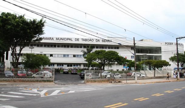 Câmara Municipal de Taboão da Serra será o palco da diplomação dos políticos eleitos. (Cynthia Gonçalves / CMTS)