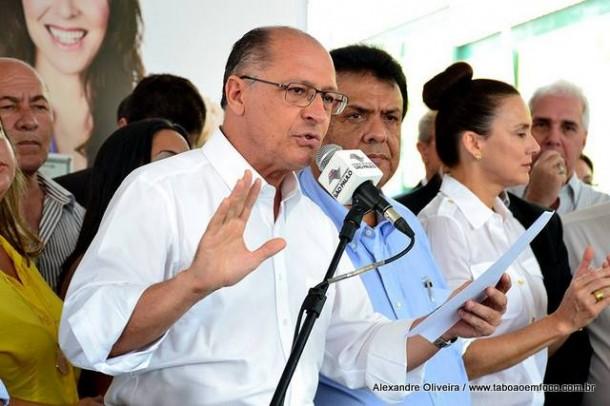 Governador Alckmin visita Taboão da Serra para inaugurar de forma oficial o Restaurante Bom Prato e assinar convênio para construção de creche. (Foto: Arquivo)